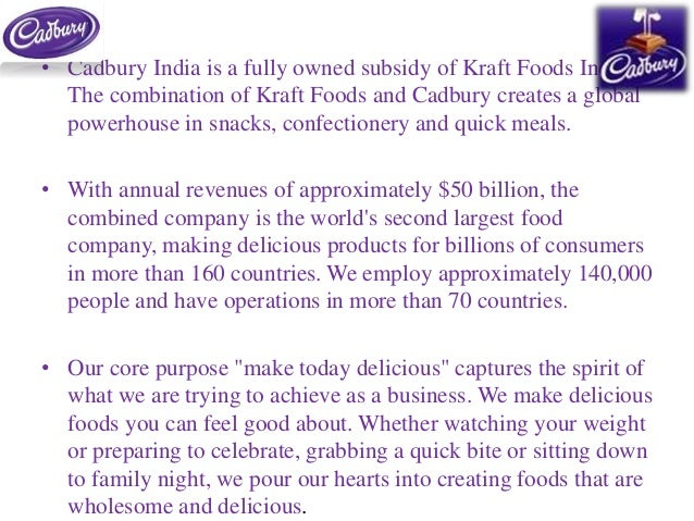 cadbury swot analysis Source: pepsico swot analysis [2] nestlé's r&d capabilities also stem from its r&d network the company has the largest r&d centers' network of any food or beverage company in the world, with 34 r&d facilities and over 5000 people working in them.