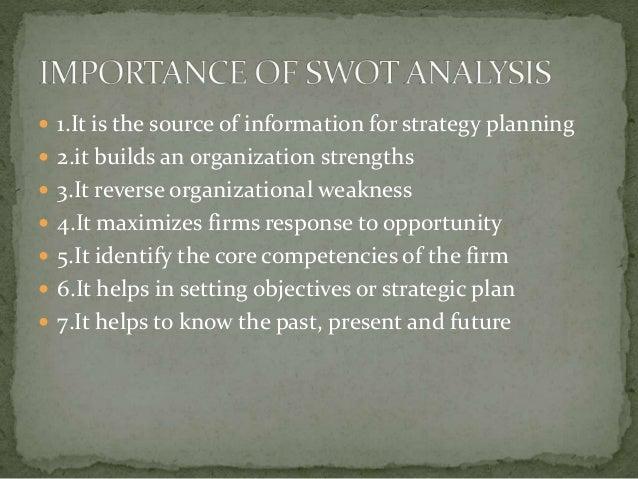limitations of swot analysis pdf