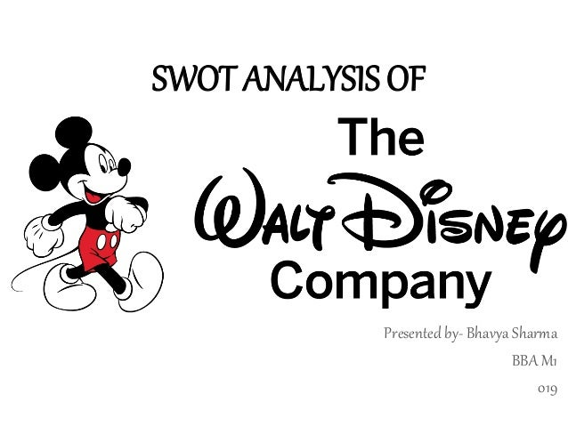 swot analysis of walt disney company Ebscohost serves thousands of libraries with premium essays, articles and other content including walt disney company swot analysis.