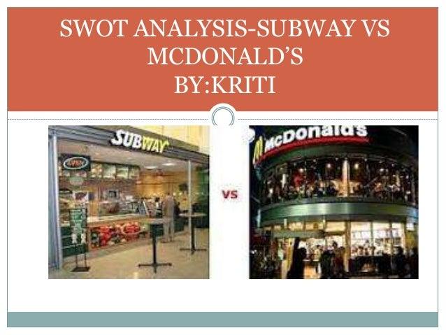 marketing strategies of subway essay example