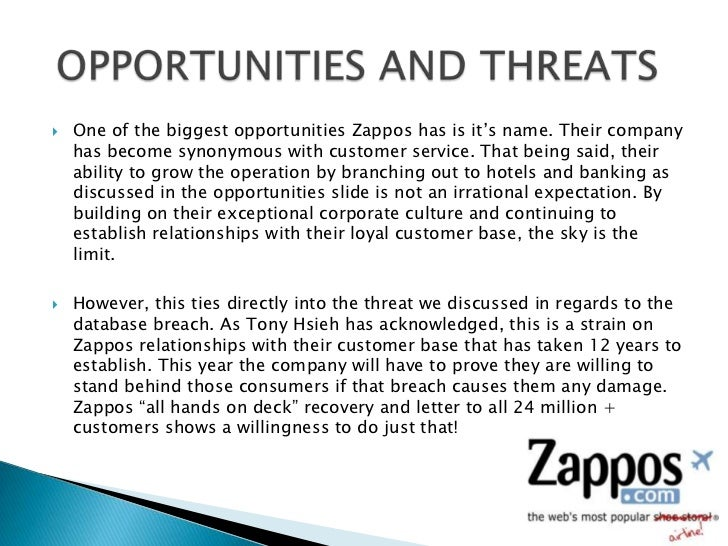 customer service case study zappos Case studies database  ten lessons zappos can teach us about staff and customer retention  looking to market itself through quality of service it's worked too .