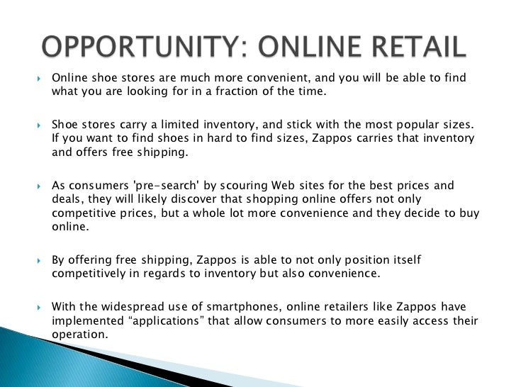 zappos swot Swot analysis of zapposcom 5 porter's 5 forces analysis of zapposcom 6  10 introduction the internet has changed the way of doing business.