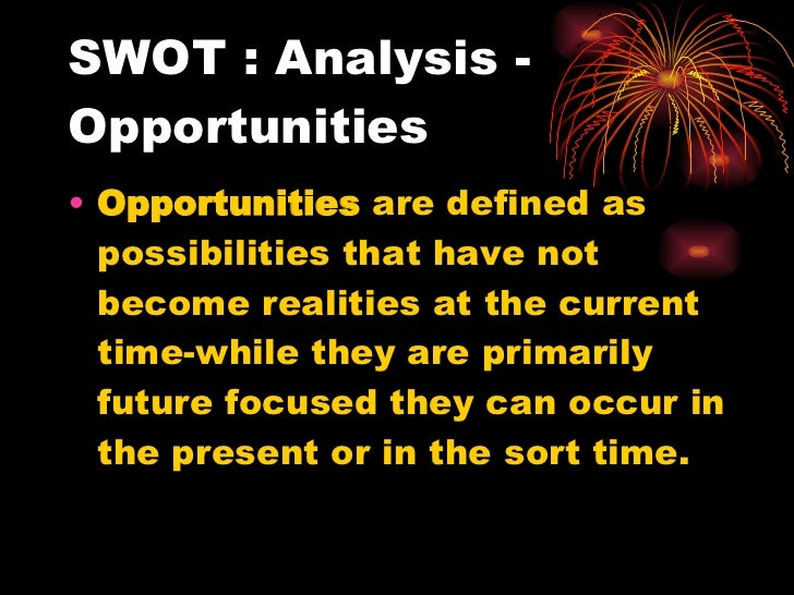 "swot analysis 9 Swot analysis 2040 words | 9 pages swot analysis of ""elit electronics"" aaaagenda: 1 introduction 2 review of the company 3 strengths 4."