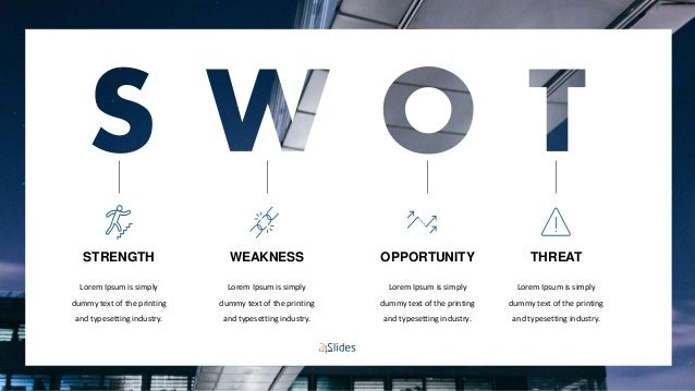 Swot Analysis Powerpoint Templates Free Download