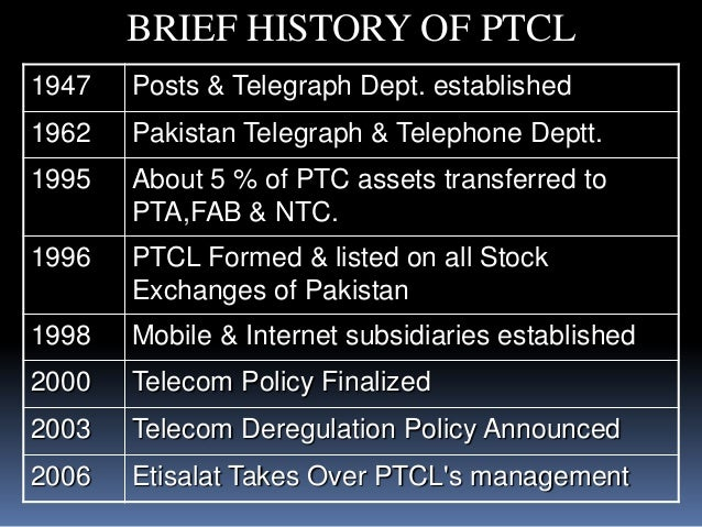 Research on ptcl