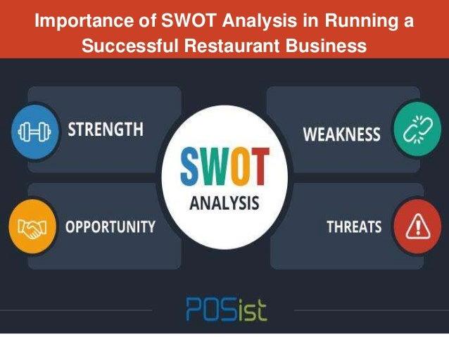swot analysis for restaurant business