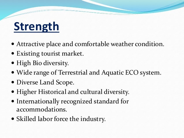 swot analysis of mauritius as a tourist destination Swot analysis of philippines as a tourist destination philippines is rich in biodiversity its beaches, mountains, rainforests, islands and diving spots are among the country's most popular tourist destinations.