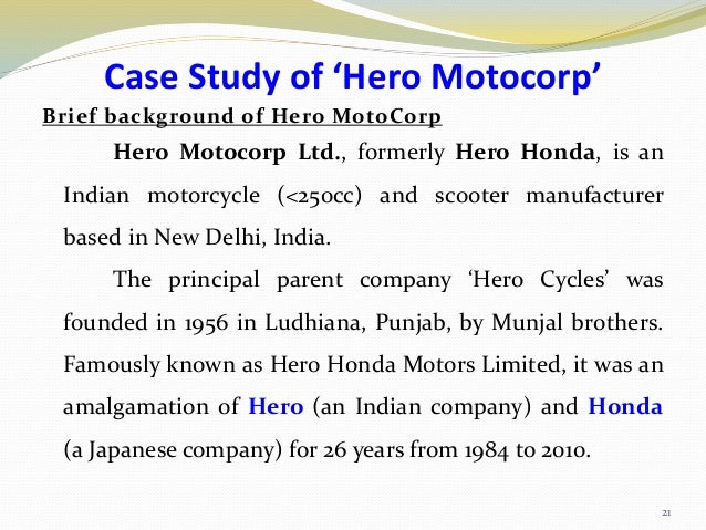 swot of hero Meet the leadership team of hero motocorp  genuine parts genuine accessories find a dealer enquiry / test ride partner with us.