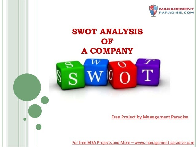 mba student swot Developing a swot matrix for adidas (marketing assignment for mba students.