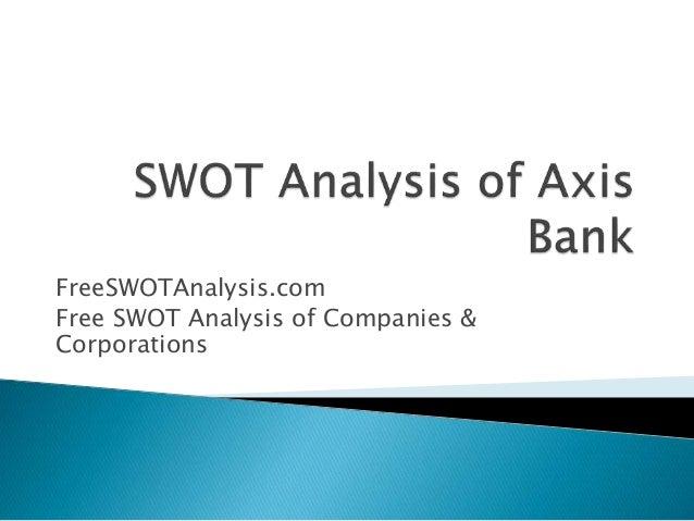 Swot analysis for bank of baroda