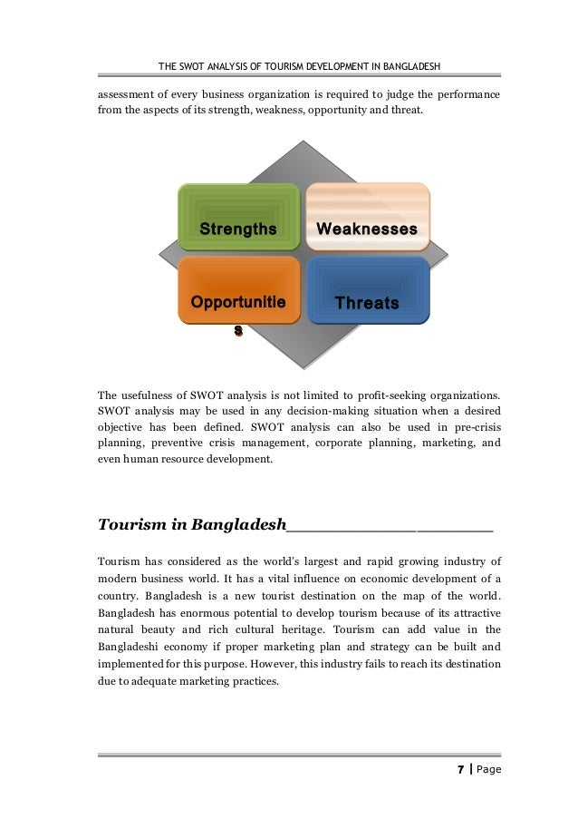 Swot Analysis Bangladesh Economy