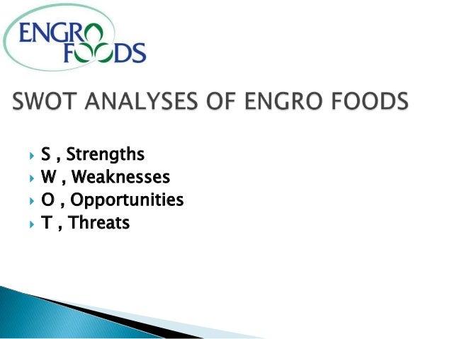 Swot analysis of engro fertilizer