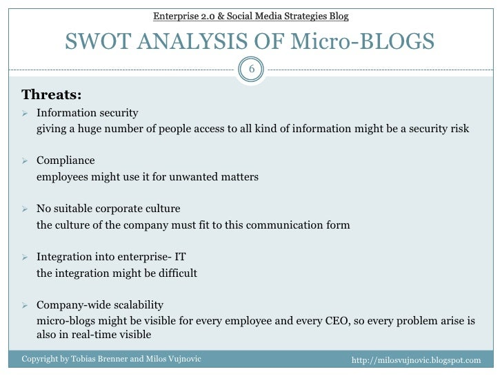 entrpise swot analysis What is swot analysis swot analysis consists of examining an organization's strengths, weaknesses, opportunities and threats in its business environment swot explores two types of environments: the internal environment.