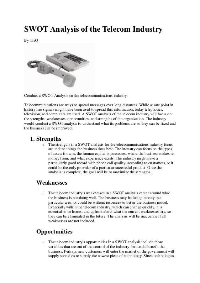 vodafone telecommunications analysis