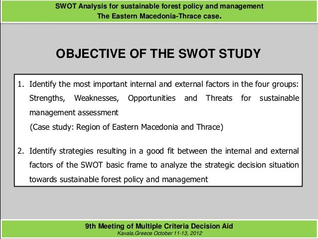 importance of swot analysis Faced with a constantly changing environment, each business unit needs to develop a marketing information system (mkis) that is capable of.