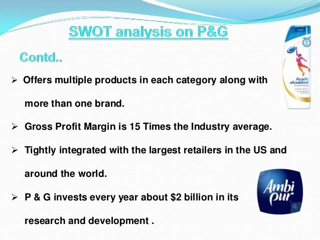 Procter & Gamble SWOT Analysis & Recommendations