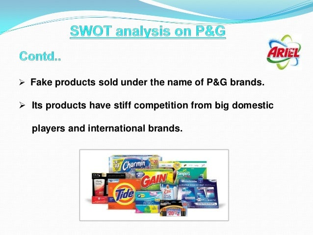 p g strategic analysis P&g is the world's largest and most profitable consumer products company, with nearly $84 billion in sales and 25 billion-dollar brands.