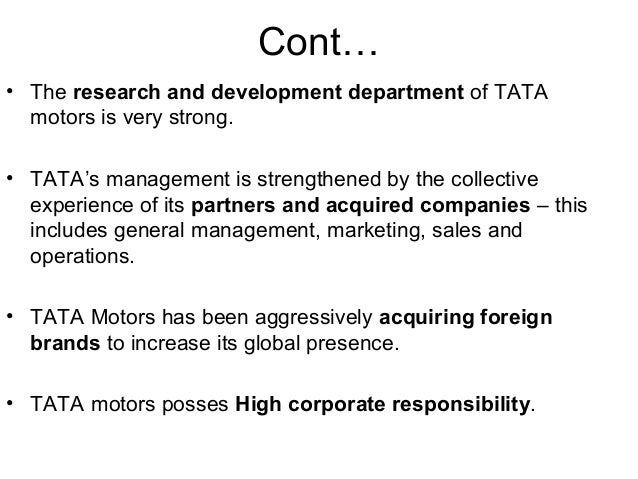 tata nano swot analysis Positioning the tata nano (a) & (b) case study analysis tata-nano-case-study-final-final - positioning external and competitive environment through a swot.