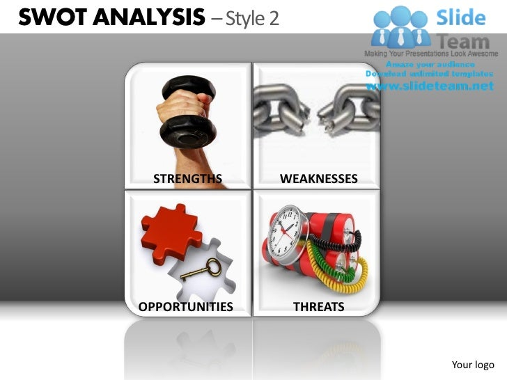 Swot Analysis Style Powerpoint Presentation Slides Db Ppt Templates