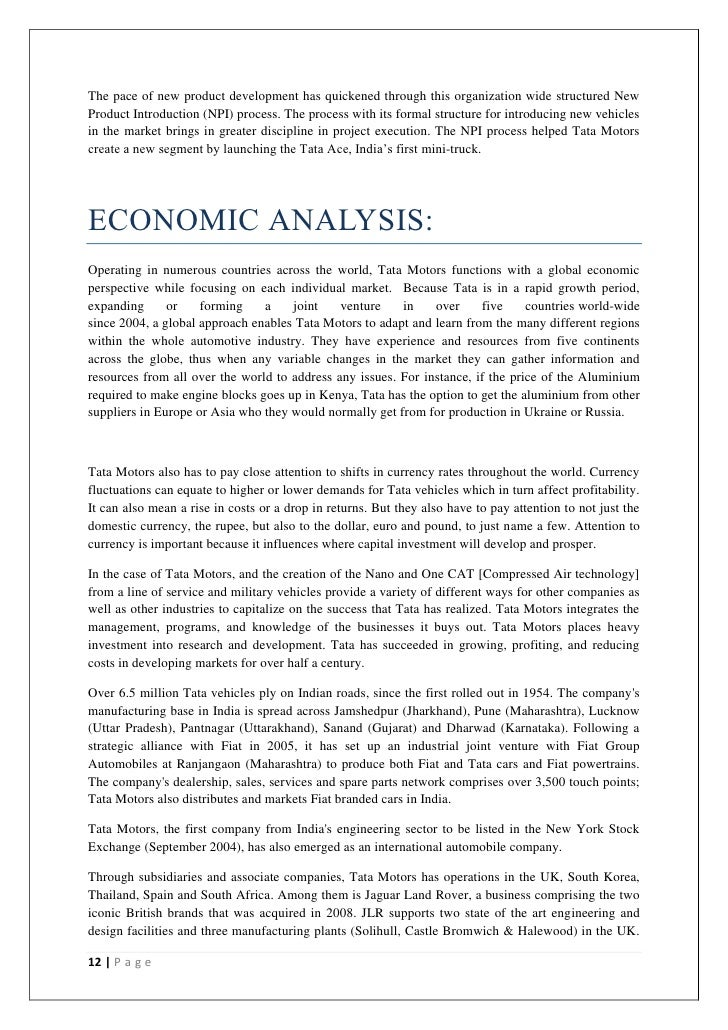 Swot Analysis Of Indian Economy Essays