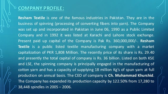 swot analysis of square textile mills ltd Raymond limited (raymond) - financial and strategic swot analysis review report home publishers summary raymond limited (raymond) is a textile and branded apparel company with interest in engineering raymond limited - swot analysis 19 swot analysis - overview 19 raymond limited.
