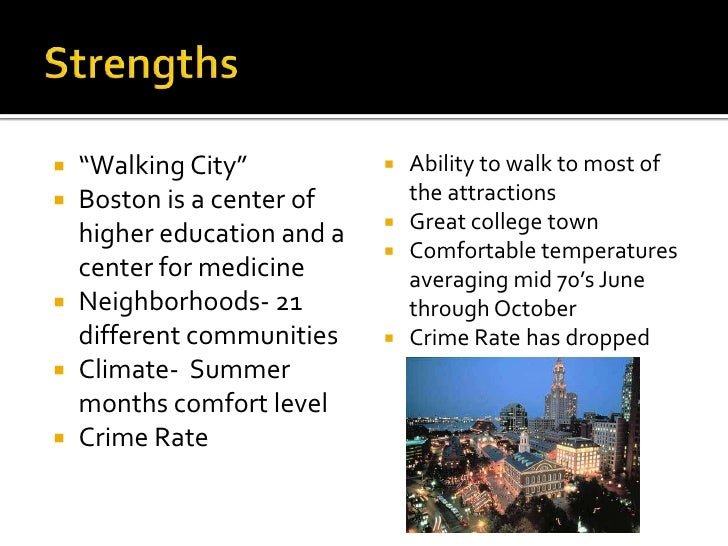 Swot Analysis Of Boston
