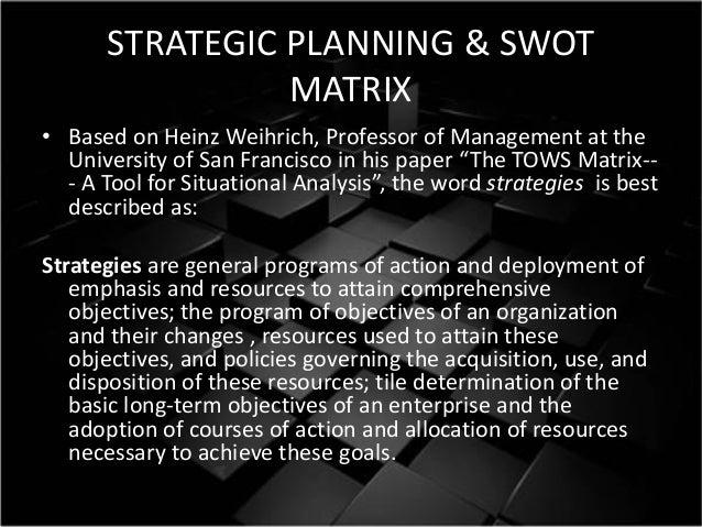 Swot Analysis: H.J. Heinz Company