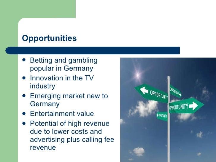 Swot analysis gambling industry the best gambling apps