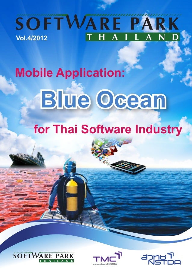 Vol.4/2012Mobile Application:       Blue Ocean     for Thai Software Industry