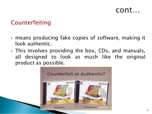 20+ Fantastic Ideas Counterfeiting Software Piracy