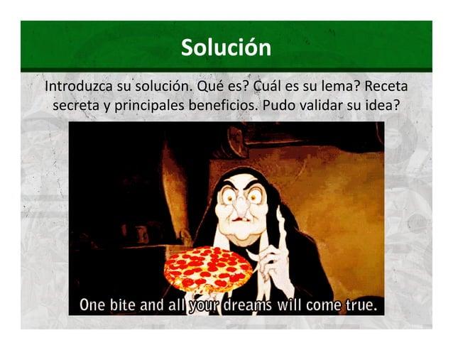 Solución  Muestren cómo su producto /  servicio funciona   ! #  !$#  %  !'#