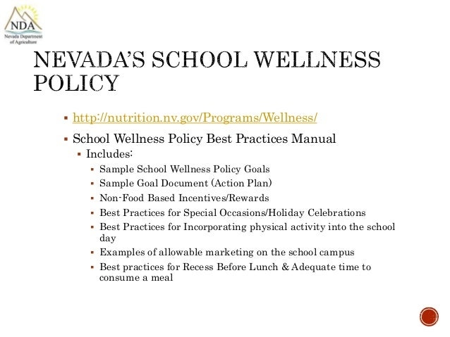 Funky School Wellness Policy Template Photo - Resume Template ...