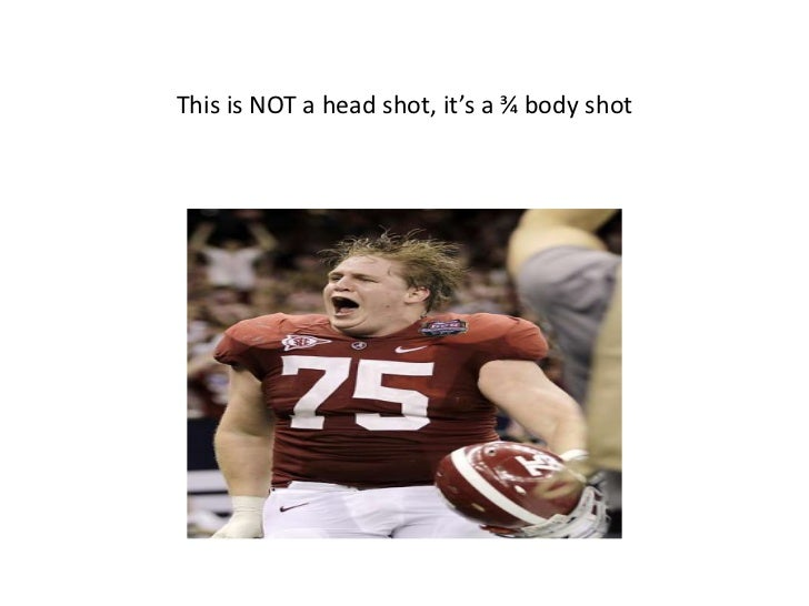 This is NOT a head shot, it's a ¾ body shot