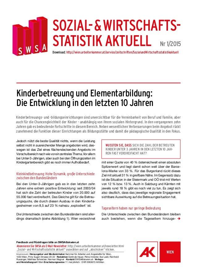 Impressum: Herausgeber und Medieninhaber Kammer für Arbeiter und Angestellte für Wien, 1040 Wien, Prinz Eugen Strasse 20-2...