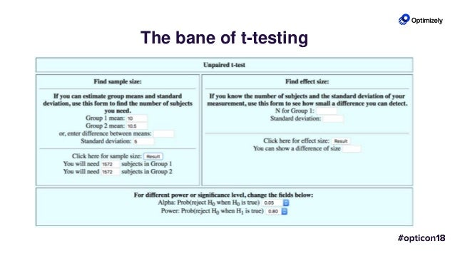 Tale of Two Tests