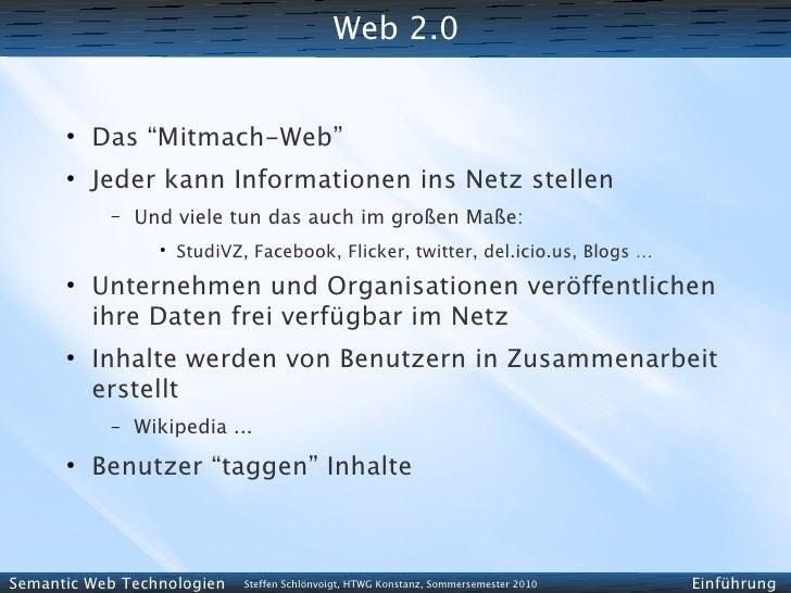 """Web 2.0         ●           Das """"Mitmach-Web""""       ●           Jeder kann Informationen ins Netz stellen            –   U..."""
