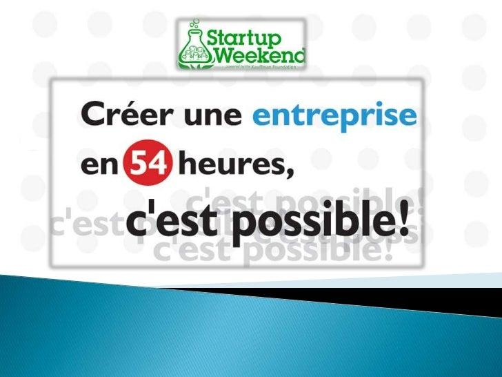 Généralement … Promouvoir    l'entrepreneuriat Créer   des opportunités de rencontres Collaborer   autour de projets in...