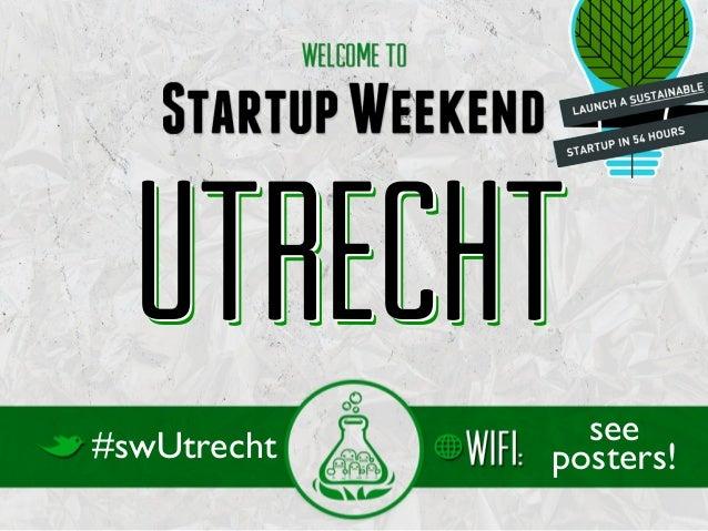 Utrecht#swUtrecht     see             posters!
