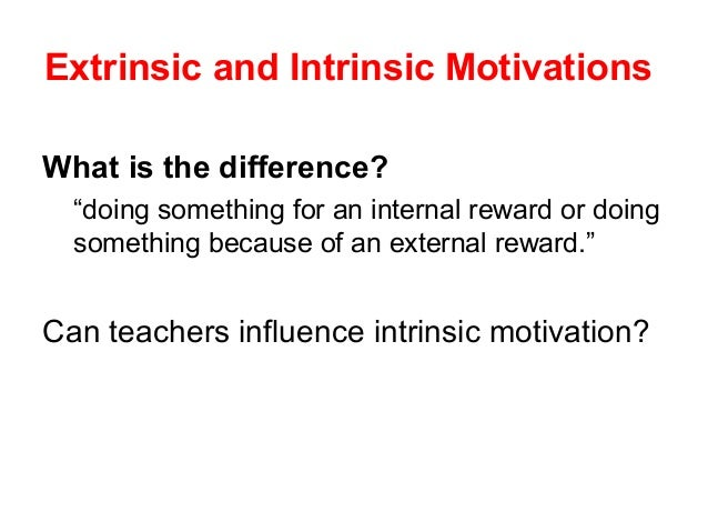 Intrinsic and Extrinsic Barriers to Learning Examples, Definition