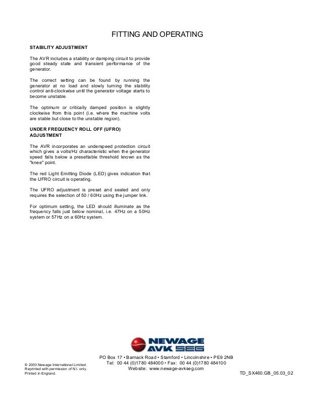 sx460-avr-newagestamford-4-638 Uci Stamford Newage Wiring Diagram on