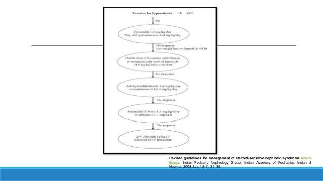 nephrotic syndrome guidelines indian pediatrics