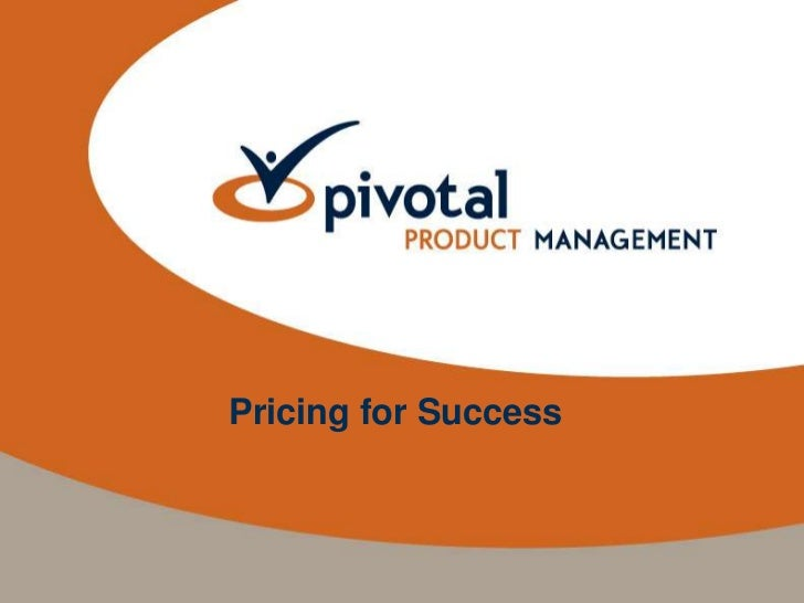 Pricing for Success<br />