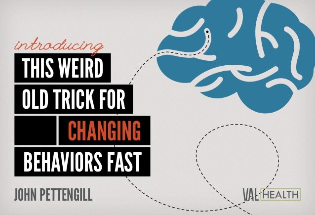 This Weird Old Trick For Changing BEHAVIORS Fast introducing JOHN PETTENGILL