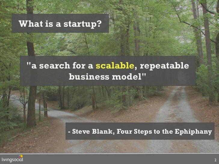 Aaron Batalion, LivingSocial, Lean Startup SXSW Slide 2
