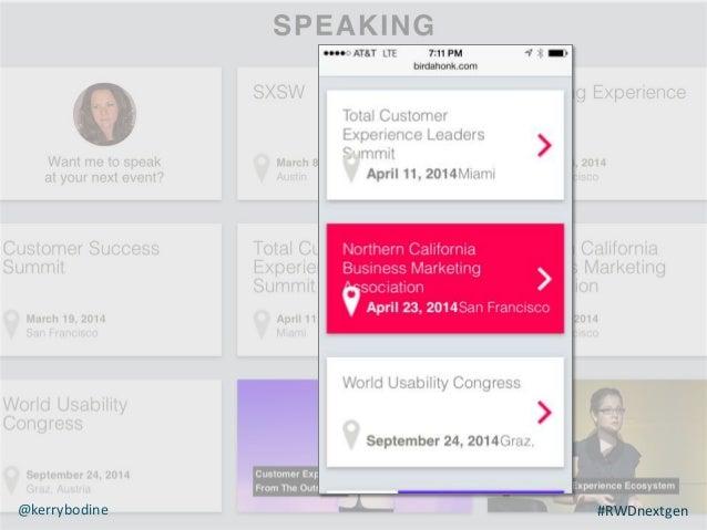 Mike Norman VP Technology, Genuine Interactive @mnorman78 #RWDnextgen