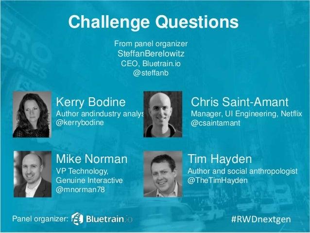 SXSW 2014 Panel: Future of Responsive Web Design