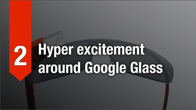 Hyper excitement around Google Glass      We've all been very excited about Google Glass for a while now, and with good re...