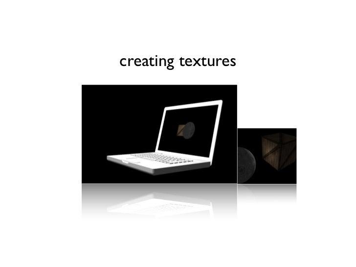 creating textures