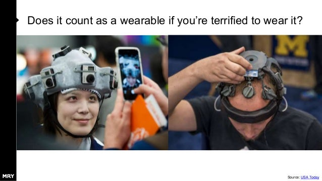 Does it count as a wearable if you're terrified to wear it? Source: USA Today
