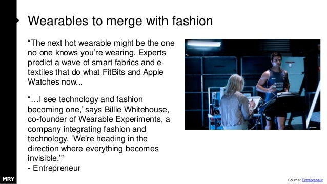 """Wearables to merge with fashion """"The next hot wearable might be the one no one knows you're wearing. Experts predict a wav..."""